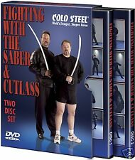 Cold Steel Fighting With The Saber & Cutlass DVD VDFSC