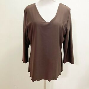 Spanx Large Top Brown Control Assets Shapewear