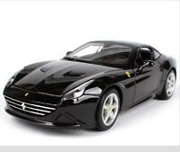 Bburago 1:18 Ferrari California T Closed Top Black Diecast Car Model NEW IN BOX