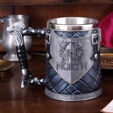 Game of Thrones Official Hbo merchandise King of the North Tankard