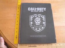 Call of Duty Black OPS Prestige Edition Strategy Guide hardcover book