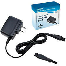 HQRP AC Adapter / Charger + Brush for Philips Norelco Series Shavers [UL Listed]