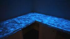 glow in the dark 3 colours of each aqua,green,blue 25 grams