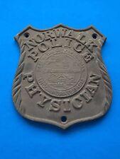 Rare Vintage Norwalk CT Police Physician Car Badge - Doctor Badge