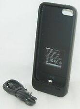 Mophie 16gb Space Pack BLACK Case for iPhone 5 5S Battery Charging Storage Shell