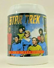Star Trek The crew of The Uss Enterprise Mug 30th Anniversary Limited of 3000