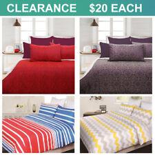 CLEARANCE $20 EACH Doona Quilt Duvet Doona Cover Set Queen Size