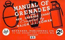 ESERCITO USA - Grenades and New Grenade Chart 1944 Manual - DVD