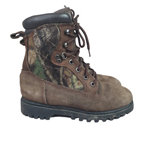 Red Head Boot Boys 5 Snake Thinsulate 600 Gram Waterproof Cold Weather Camo