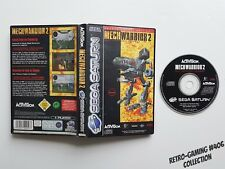 MECHWARRIOR 2 sur Sega Saturn - Version PAL FR #RETRO-GAMING #406