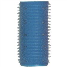 "ST-EZ-12 BEAUTY SALON SOFT STYLE SELF HOLDING GRIP HAIR ROLLER - 12PK 1"" BLUE"