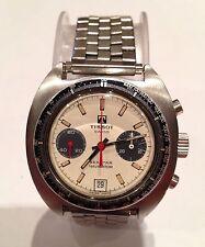 VINTAGE TISSOT SEASTAR NAVIGATOR, acciaio inossidabile, cronografo, ca 1970, 40MM