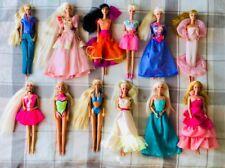 Bundle Big Lot Vintage Barbie Dolls 12 with clothes and accessories Mattel