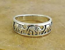 CUTE STERLING SILVER ELEPHANT TOE RING BABY RING size 3  style# r0497