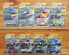 Hot Wheels 2018 FORD SERIES Complete Set of 8