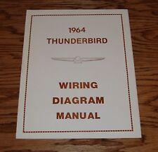 1964 Ford Thunderbird Wiring Diagram Manual 64