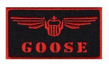 Goose Nick Bradshaw Top Gun movie Iron on Sew on Patch (MTP2)