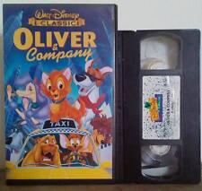 VHS FILM Cartoni Animati Walt Disney OLIVER & COMPANY VS 4684 no dvd(VHS6)