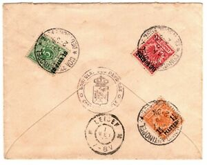 1899 German Offices in Turkey Cover Registered Constantinople - To Leiden