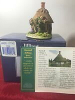 "Lilliput Lane Cottages L2180 ""Harebell Cottage"" Mint in original box with deed."