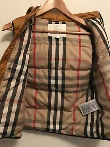 Burberry Vest ~ Childs ~ Size 12 Yr ~ As New