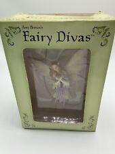 Amy Brown's Fairy Divas SPRING Ornament Figure in box 2002 New