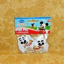Mickey Mouse,Cupcake Picks,Wilton,24ct.2113-7071,Multi-Color,Disney,Fun Pix