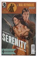 SERENITY LEAVES ON THE WIND #1 ACME VARIANT SIGNED BY GEORGES JEANTY FIREFLY MAL