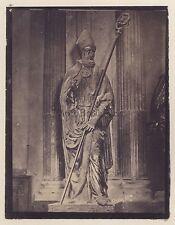 Sculpture Religion Italie identifier Vintage albumine c 1865