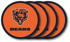 Chicago Bears Coasters Set of 4 Beverage Coasters