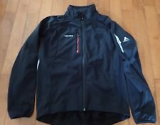 Vaude Mens Black Jacket Black Black/Orange Size XL