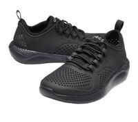 Crocs Unisex LiteRide Pacer Black Rubber Sneaker Style Shoes 206011 Sz:j5