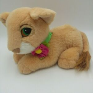 The Lion King Plush Nala Cub Animal Original 1993 Disney DOES NOT PURR Vintage