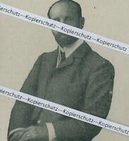 Hubert Freiherr von Gumppenberg - Regierungspräsident der Oberpfalz - um 1920