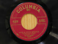 Dave Brubeck Quartet 45 A Little Whistle bw Alice In Wonderland   Columbia M-