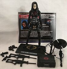 GI Joe 50th Anniversary Baroness v12 2014 Social Class complete Figure 25th poc