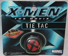 NEW IN PACKAGE X-MEN TIE TAC AUTHENTIC COLLECTIBLE MARVEL  2000 BLACK AND RED