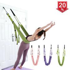 UK Yoga Swing Hammock Strap Anti-Gravity Inversion Door Sling Aerial Yoga Props