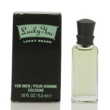 Lucky You Cologne Mini by Lucky Brand - 0.18 / .18 oz / 5.3 ml Splash New In Box