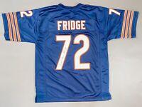 William Perry Signed Autograph Blue Bears FRIDGE NFL Football Jersey JSA COA