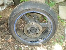 Triumph 955 Daytona Speed Triple rear wheel with tyre and disc