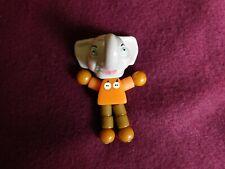 Antique Tykie Toy Bakelite Beads Elephant with Orange beads