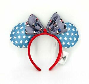 Disney Parks Minnie Ears Exclusive Star Mickey Mouse Rare 2021 Blue Headband