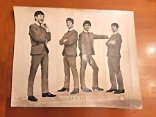 Vintage Black and white photograph of the Beatles Star sp585 36.5cm x29cm