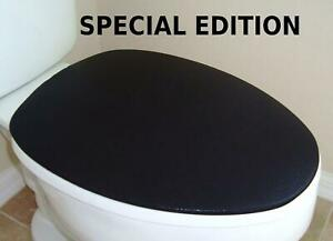 Shiny Fabric Lid Cover for toilet SEAT Models Round & Elongated HandMade in USA