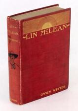 Signed Owen Wister 1901 Lin McLean First Western Novel Hardcover