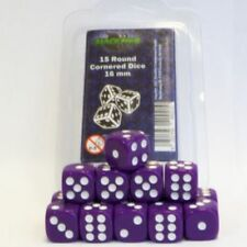 Blackfire W6 CUBO 16MM 6-seitig Viola (15) Set di Dadi D6 Dadi COUNTER Viola