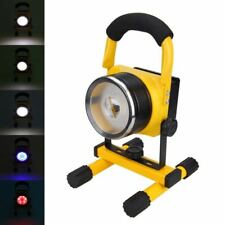 Zoom Portable 30W 29LED 3000LM Cordless 18650 Rechargeable Flood Spot Light Lamp