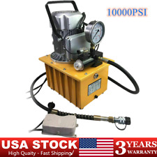 Electric Hydraulic Driven Pump 2 Stage Solenoid Valve Power Pack 10000psi
