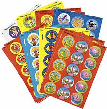 300 Positive Words Scratch n Sniff Smelly Teacher Reward Stickers Variety Pack